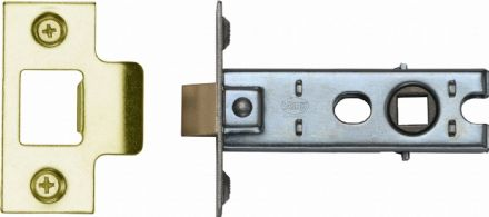 M Marcus York Security YKTL3-PB Mortice Latch 76mm Polished Brass